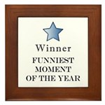 The Comedy Award - Framed Tile