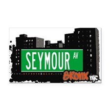 SEYMOUR AV Rectangle Car Magnet