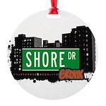Shore Dr Round Ornament