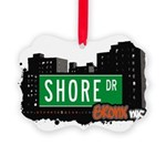 Shore Dr Picture Ornament
