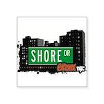 Shore Dr Square Sticker 3