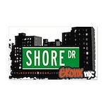 Shore Dr Rectangle Car Magnet