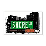 Shore Dr Car Magnet 20 x 12