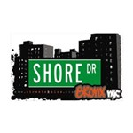 Shore Dr 35x21 Wall Decal