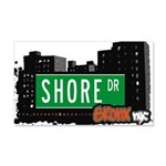 Shore Dr 20x12 Wall Decal