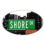 Shore Dr Sticker (Oval 50 pk)