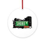 Shore Dr Ornament (Round)