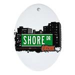 Shore Dr Ornament (Oval)