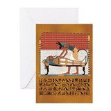 Anubis Magic Greeting Cards (Package of