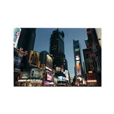New York Times Square Rectangle Magnet