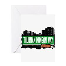 THURMAN MUNSON WAY Greeting Card