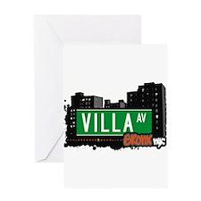 Villa Ave Greeting Card