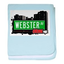 Webster Ave baby blanket