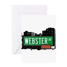 Webster Ave Greeting Card