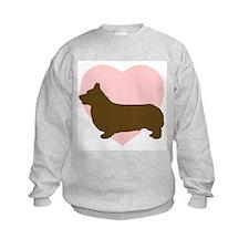 Corgi Heart Sweatshirt