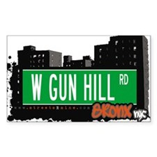 W GUN HILL RD Decal