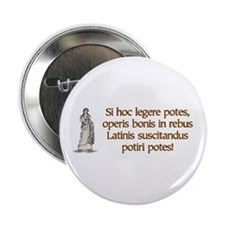 """Read Latin - 2.25"""" Button (100 pack)"""