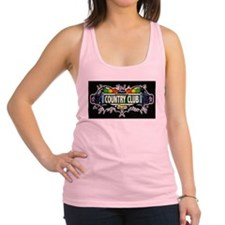 Country Club Bronx NYC (Black) Racerback Tank Top