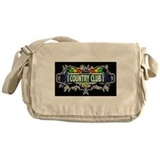 Country Club Bronx NYC (Black) Messenger Bag