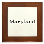 Maryland Framed Tile