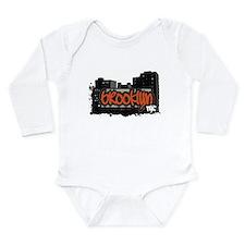 BROOKLYN NYC Long Sleeve Infant Bodysuit