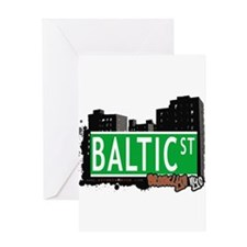 Baltic street, BROOKLYN, NYC Greeting Card
