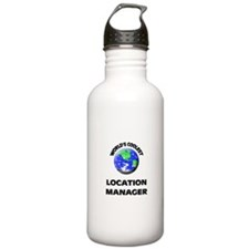 World's Coolest Location Manager Water Bottle