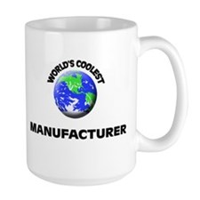 World's Coolest Manufacturer Mug