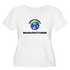 World's Coolest Manufacturer Plus Size T-Shirt
