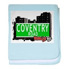 Coventry road, BROOKLYN, NYC baby blanket