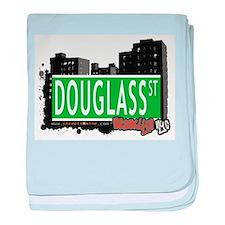 DOUGLASS ST, BROOKLYN, NYC baby blanket