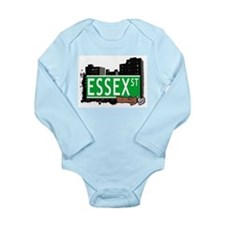 ESSEX ST, BROOKLYN, NYC Long Sleeve Infant Bodysui