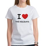 I love the holidays Tee