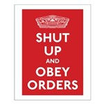 Shut Up & Obey Small Poster