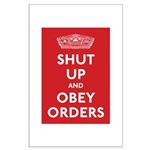 Shut Up & Obey Large Poster
