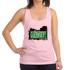 GUERNSEY ST, BROOKLYN, NYC Racerback Tank Top