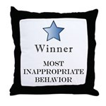 The Gotch'ya Award - Throw Pillow