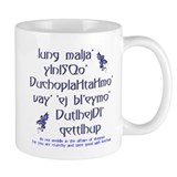 Affairs of Dragons (Klingon) Mug