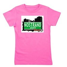 NOSTRAND AVENUE, BROOKLYN, NYC Girl's Tee