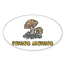 Fungus Amungus Oval Decal