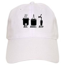 Boil. Bubble. Beer! Baseball Baseball Cap