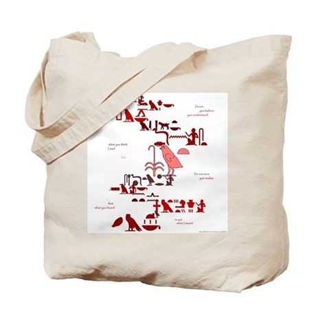 Not What I Meant (Egyptian) Tote Bag