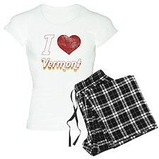 I Love Vermont (Vintage) pajamas