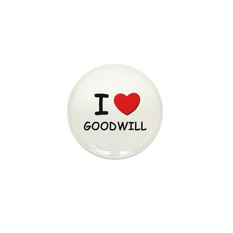 I love goodwill Mini Button