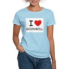 I love goodwill Women's Pink T-Shirt