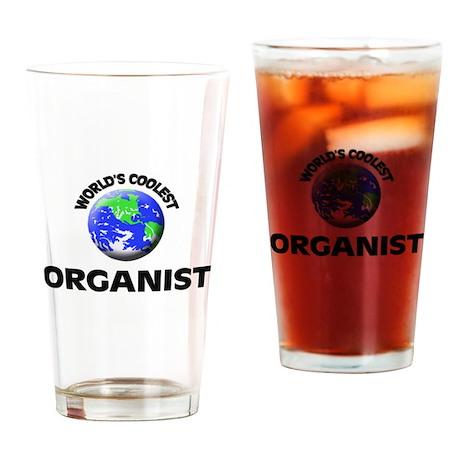 World's Coolest Organist Drinking Glass