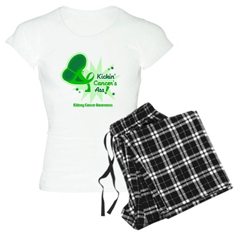 Kickin Kidney Cancer Women's Light Pajamas