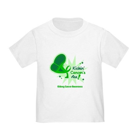 Kickin Kidney Cancer Toddler T-Shirt