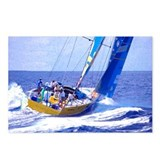 Sailboat Art Postcards (Package of 8)