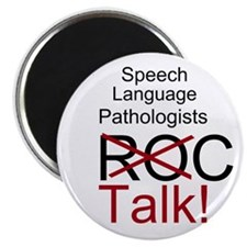 "SLPs Talk! 2.25"" Magnet (100 pack)"